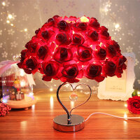 玫瑰香薰台灯创意浪漫实用的女生日礼物结婚送女友闺蜜朋友情