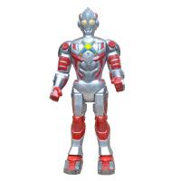 超大奥特曼玩具可充电智能遥控机器人超人模型讲故事男孩 金比遥控奥特曼+赠品礼包 【55厘米高】【配直冲充电套装
