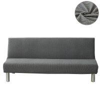 【品牌热卖】折叠沙发床套简易无扶手折叠沙发床套沙发套包沙发罩盖沙发笠套四季通用型 160-190cm通用
