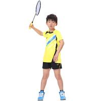�和�羽毛球服男女童�A�I �\�臃�乒乓球服�W球服套�b上衣