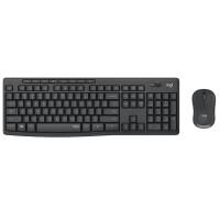 罗技 MK315 无线键鼠套装 静音商务办公家用台式机电脑键盘鼠标