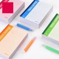 笔记本文具套装练习本A4记事日记本子加厚大软面抄小B5 w0x