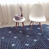 仙人掌地毯客厅茶几沙发简约现代卧室床边长方形防滑地垫 森系仙人掌(源自韩国)