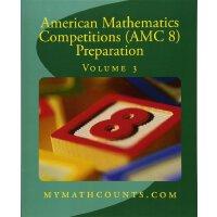 【现货】英文原版 美国数学竞赛 (AMC 8) 备考3 American Mathematics Competition