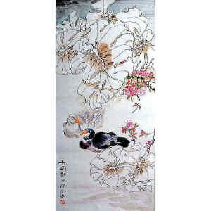 郑乃珖  《春日图》