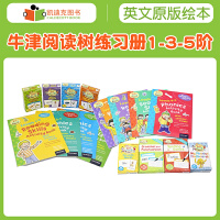 牛津��x�渚���� ORT 1-5�A Activity Sticker Flahcard Pack 美��全科���宰匀黄�