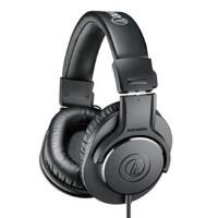 铁三角(Audio-technica)M20x ATH-M20x 入门专业监听耳机 头戴式耳机