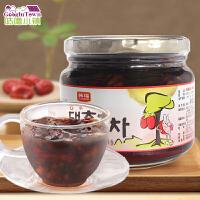 【满99减50元】韩国进口韩福10.2蜂蜜大枣茶580冲饮饮料