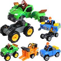 灵动创想熊出没儿童玩具百变系列光头强熊大熊二变形汽车男孩