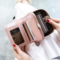米印�X包女短款�W生�n版可�壅郫B2020新款小清新卡包�X包一�w包女