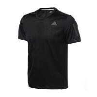 adidas阿迪达斯男装短袖T恤年跑步运动服BP7430
