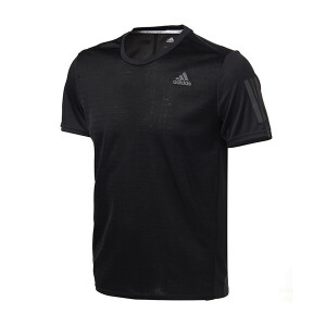 adidas阿迪达斯男装短袖T恤2018年新款跑步运动服BP7430