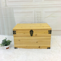 实木原木箱复古储物收纳整理箱大号置物箱陈列拍摄店面装饰木箱子