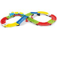 拖马斯小火车套装轨道车儿童电动兼容乐高积木汽车玩具男孩3456岁 可自由变化轨道款 高档彩盒包装