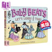 【中商原版】Baby Beats: Let's Learn 3/4 Time! 初学音符:3/4拍子 英文原版 进口图书