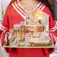 公主房礼物小屋手工制作小房子模型拼装别墅玩具