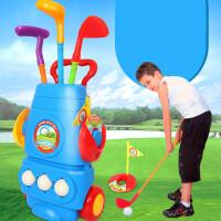 儿童高尔夫球杆套装玩具 宝宝高尔夫玩具室内 运动户外球类玩具