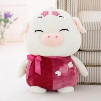 毛绒玩具猪公仔女孩大号睡觉抱枕布娃娃玩偶儿童生日礼物创意布偶 75厘米 加大号