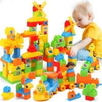 积木拼装大号大块儿童玩具6-7-8-10周岁男孩子塑料拼插1-2-3