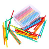 儿童数数棒小学一年级数学教具计算术加减法数学棒竹木制益智玩具