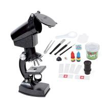 奥视界 启智探索玩具 1200倍科普学生显微镜 益智趣味变焦生物显微镜套装 生日礼物