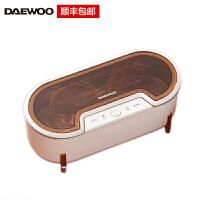 韩国大宇(DAEWOO)超声波清洗机家用洗眼镜机眼镜清洗器手表首饰清洗机 C1 象牙白