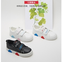 儿童运动鞋女童鞋子男童小白板鞋春秋季新款