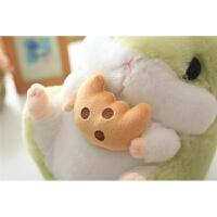 可爱萌松鼠毛绒玩具公仔布娃娃玩偶日本豚鼠儿童抱枕生日礼物女孩 加大号65厘米 1.7kg 送玫瑰花*1
