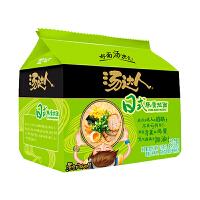 统一汤达人日式豚骨拉面125g*5袋 家庭装速食方便面食品 泡面汤面