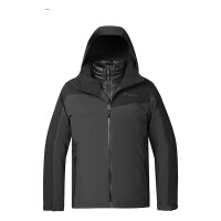 Columbia哥伦比亚2018秋冬新品哥伦比亚户外男热能防水800P羽绒三合一冲锋衣PM5586