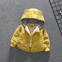 婴儿外套秋冬装男童幼儿0一1岁宝宝棉衣冬季衣服幼儿棉袄