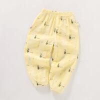 儿童防蚊裤女童夏季宝宝长裤夏天男童运动裤子灯笼裤