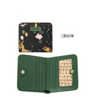韩版迷你两折短款小钱包女士多卡位大钞夹可爱零钱包