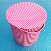收纳桶 大号带盖可坐人塑料储物桶洗澡凳钓鱼桶多用洗车水桶