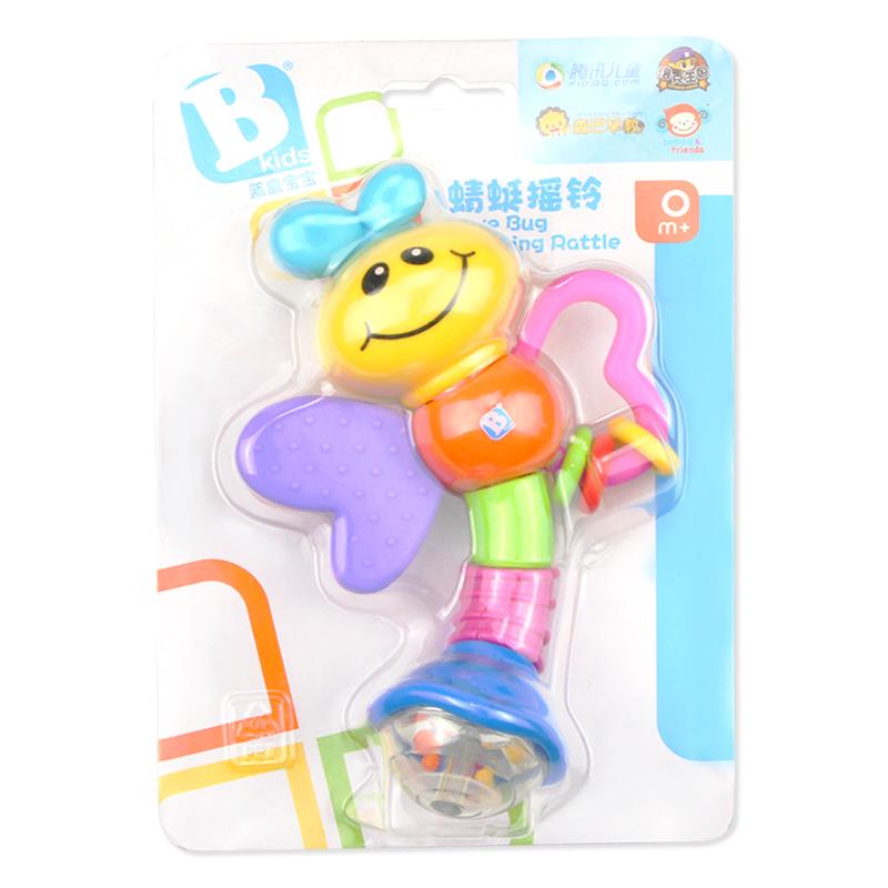 手摇铃婴儿玩具0-3-6-12个月8宝宝0-1岁女孩幼儿新生儿益智牙胶5