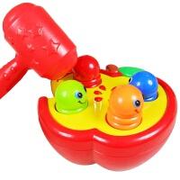 男孩宝宝儿童益智迪孚大号敲击果虫打地鼠1岁宝宝玩具3-5-6-8个月早教
