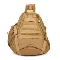 旅行单肩包登山战术背包小胸包户外迷彩胸包休闲单肩斜挎包运动包