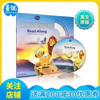 The Lion King Storybook+CD 迪斯尼故事书 含CD・狮子王 英文儿童故事
