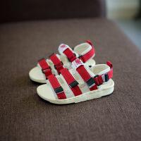 2女童5男童6儿童宝宝凉鞋布面2017新款韩版1-3岁宝贝鞋子女孩
