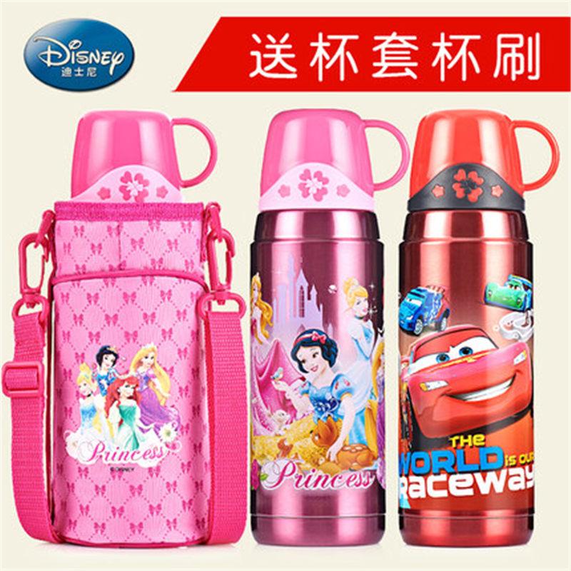 迪士尼儿童保温杯户外大容量男女小学生水杯子304水壶
