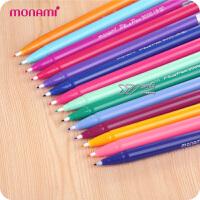 韩国monami慕娜美3000彩色水性笔 慕那美勾线笔草图笔 30色可选