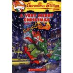Geronimo Stilton #35: A Very Merry Christmas 老鼠记者35:快乐的圣诞节 9780545021357