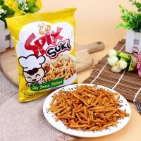 【促销】Spix小苏琪干脆面开袋即食掌心脆印尼进口酱油鸡味小拉面120g整箱批发