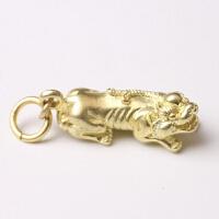 中国风铜饰铜动物钥匙扣吊坠钥匙圈小礼品黄铜挂件精品