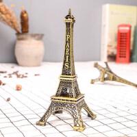 巴黎铁塔摆件艾菲尔铁塔金属塔模型摆件埃菲尔装饰品礼物礼品