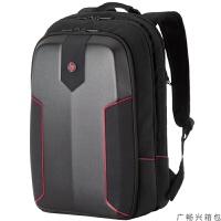 电脑包双肩17.3寸暗影精灵3 4PLUS笔记本包游戏背包17L 黑色 17.3英寸