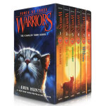 顺丰发货 Warriors: Power of Three Box Set:Volumes 1 to 6 猫武士 三力