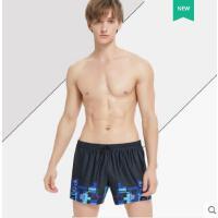 男士泳裤宽松泳裤男平角游泳裤潮牌沙滩裤男海边度假休闲泳衣男款