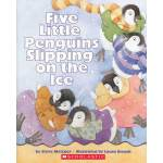 Five Little Penguins Slipping On The Ice (Book+CD)五只滑倒在冰上的小