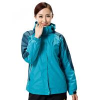户外男女款冲锋衣防风保暖透气三合一两件套 15012